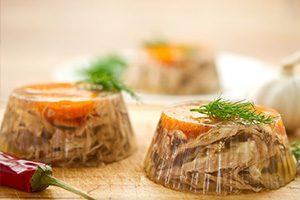 Комплексные добавки для продуктов в желе, зельцев, паштетов и ливерных колбас